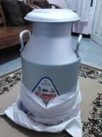 Milk Can Alumunium Import 40 ltr
