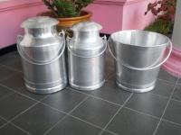 Milk Can Alumunium Local dan Ember Perah Alumunium